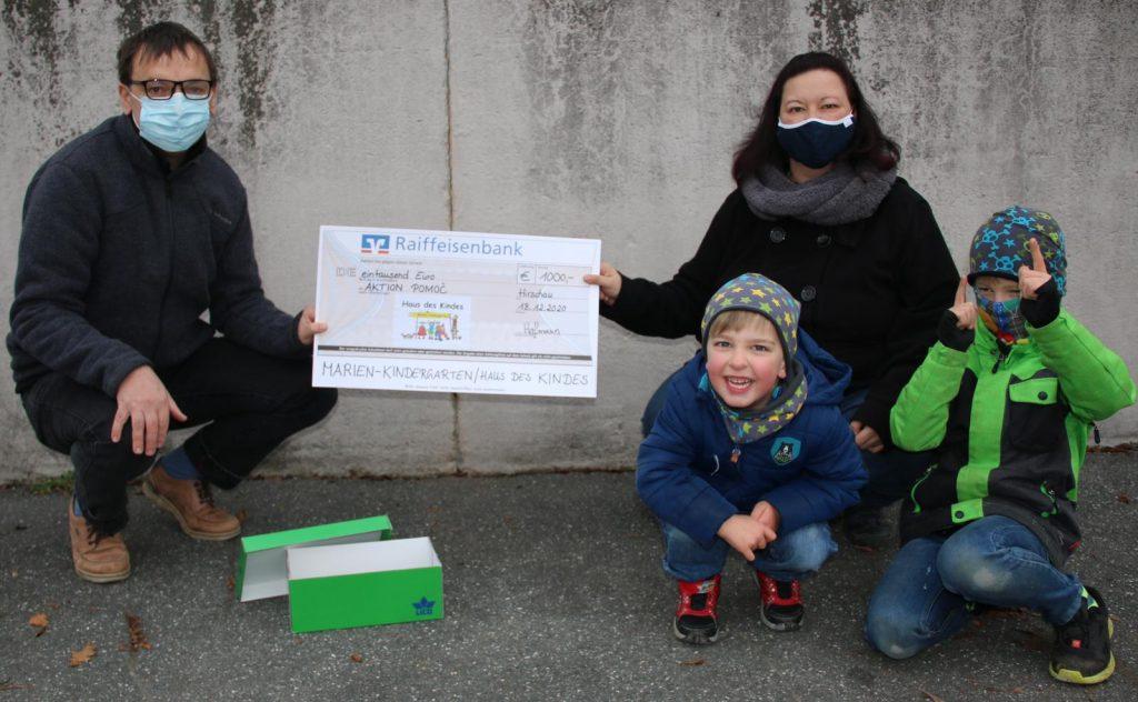 Spendenübergabe Elternbeirat Hirschau